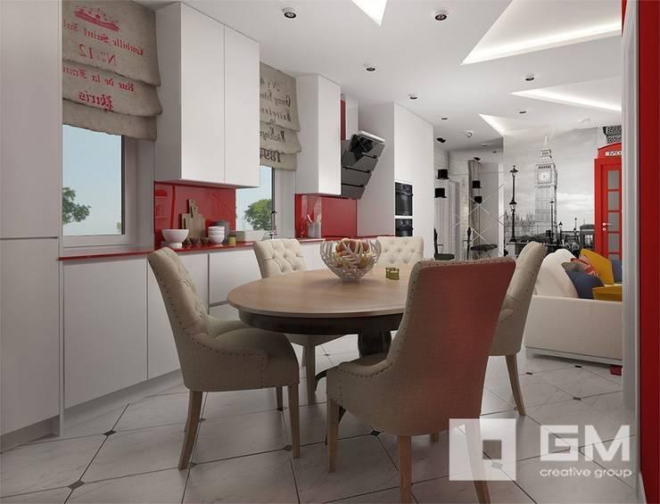 Дизайн интерьера таунхауса в пос. Бристоль 2 : Кухни в . Автор – GM-interior