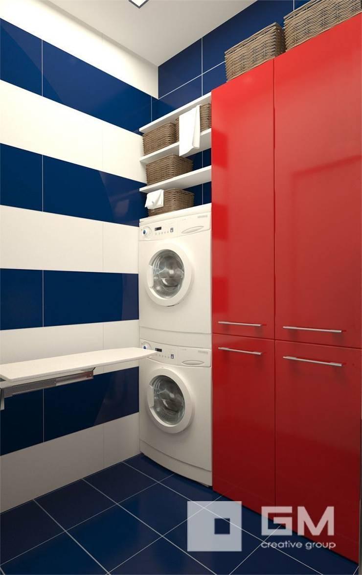 Дизайн интерьера таунхауса в пос. Бристоль 2 : Ванные комнаты в . Автор – GM-interior