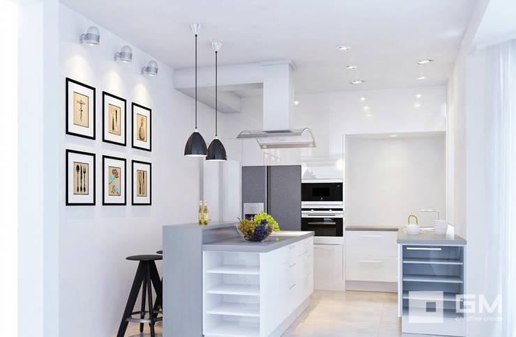Дизайн интерьера дома по Дмитровскому шоссе,  Горки : Кухни в . Автор – GM-interior