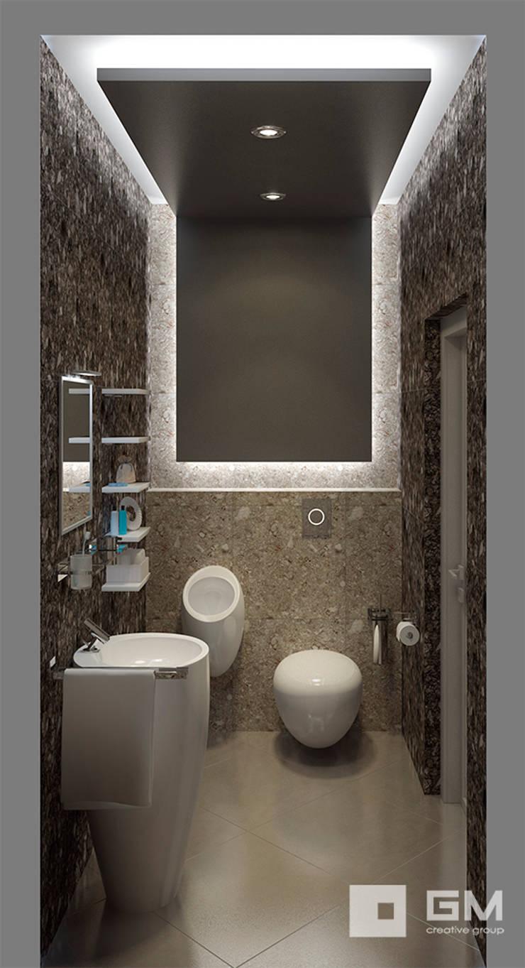 Дизайн интерьера дома по Дмитровскому шоссе,  Горки : Ванные комнаты в . Автор – GM-interior