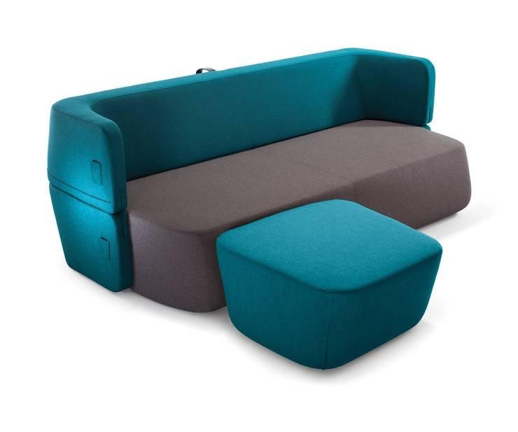 Schlafsofa Revolve: minimalistische Wohnzimmer von Livarea