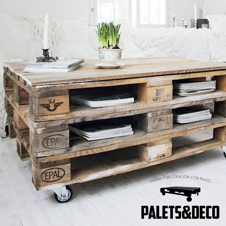 Palets&Deco: Comedor de estilo  por Palets&Deco