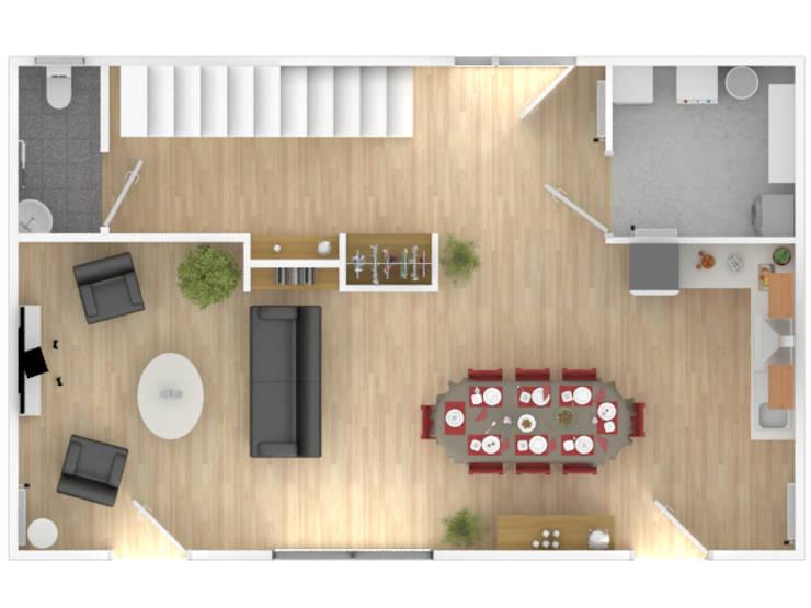 EKO 125: Maisons de style  par MUREKO