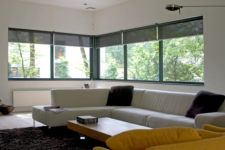 Villa Vught:  Woonkamer door Doreth Eijkens | Interieur Architectuur