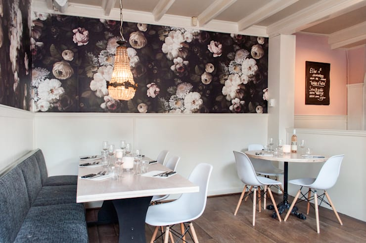 ร้านอาหาร by IJzersterk interieurontwerp