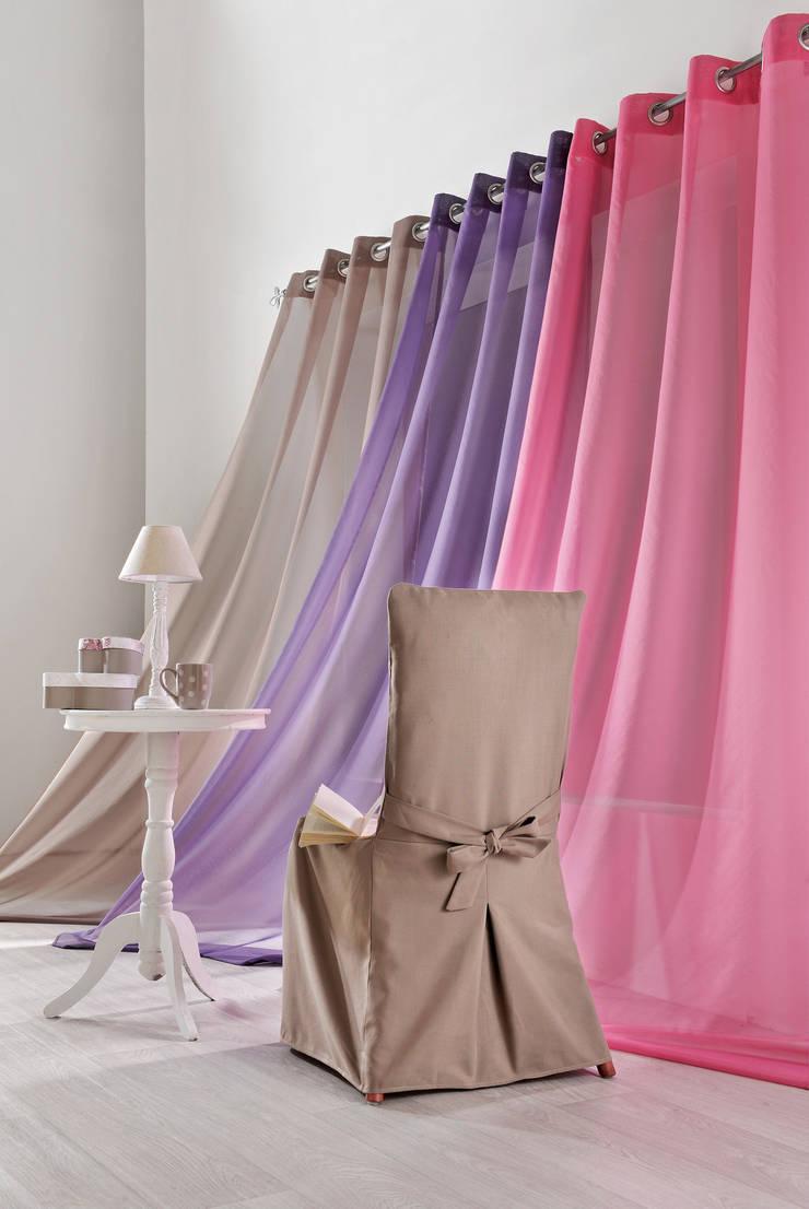 Rideaux prêts à poser>Candy Fresh>VICTOIRE: Maison de style  par So Textil