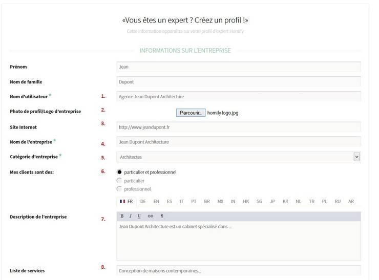 Comment créer un profil expert sur homify?:  de style  par Aide homify