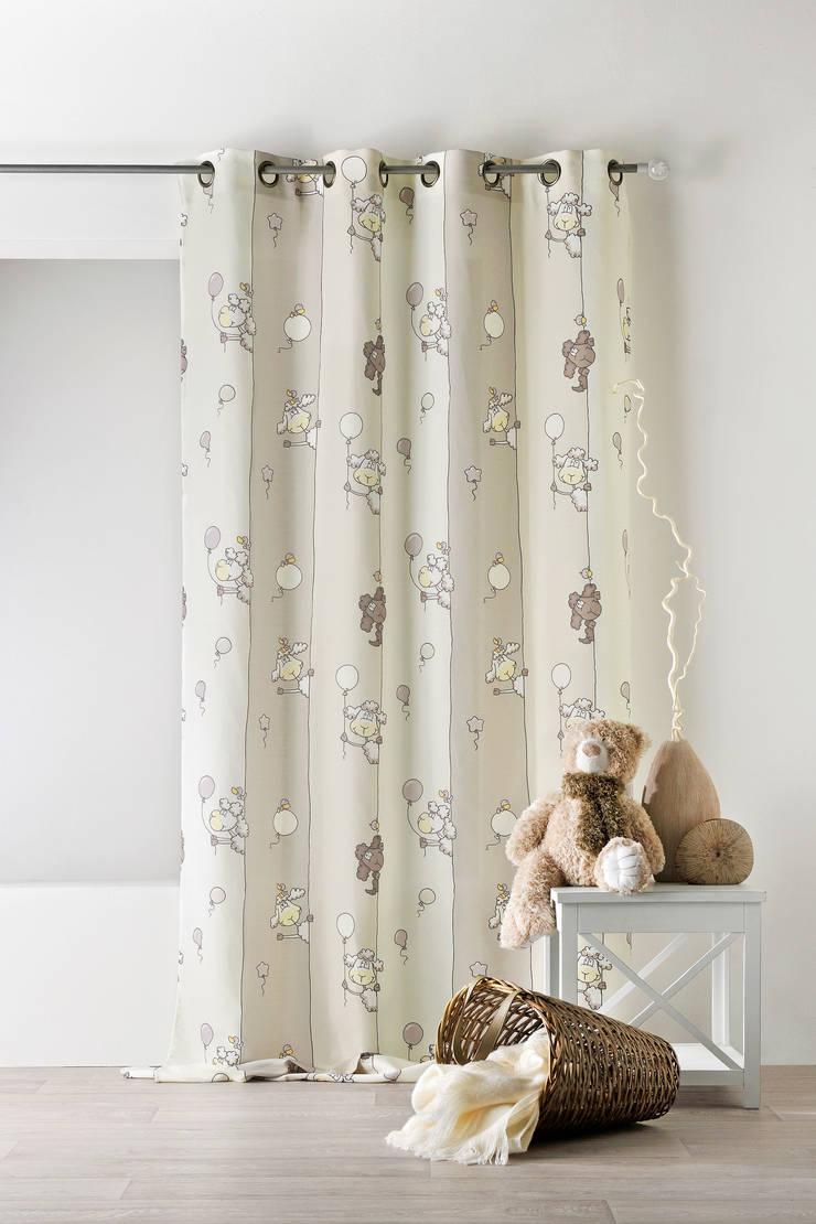 Rideaux prêts à poser>Kids>MOUTON: Chambre d'enfants de style  par So Textil