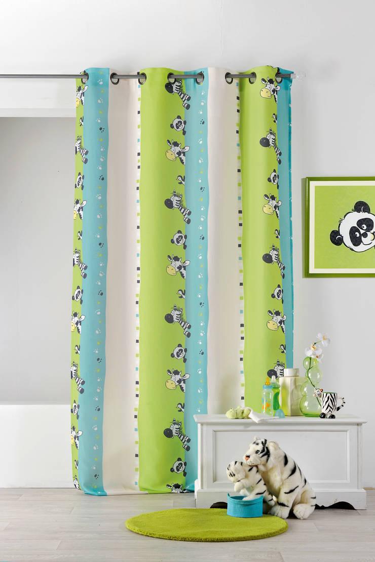 Rideaux prêts à poser>Kids>ZEBRE par So Textil Moderne