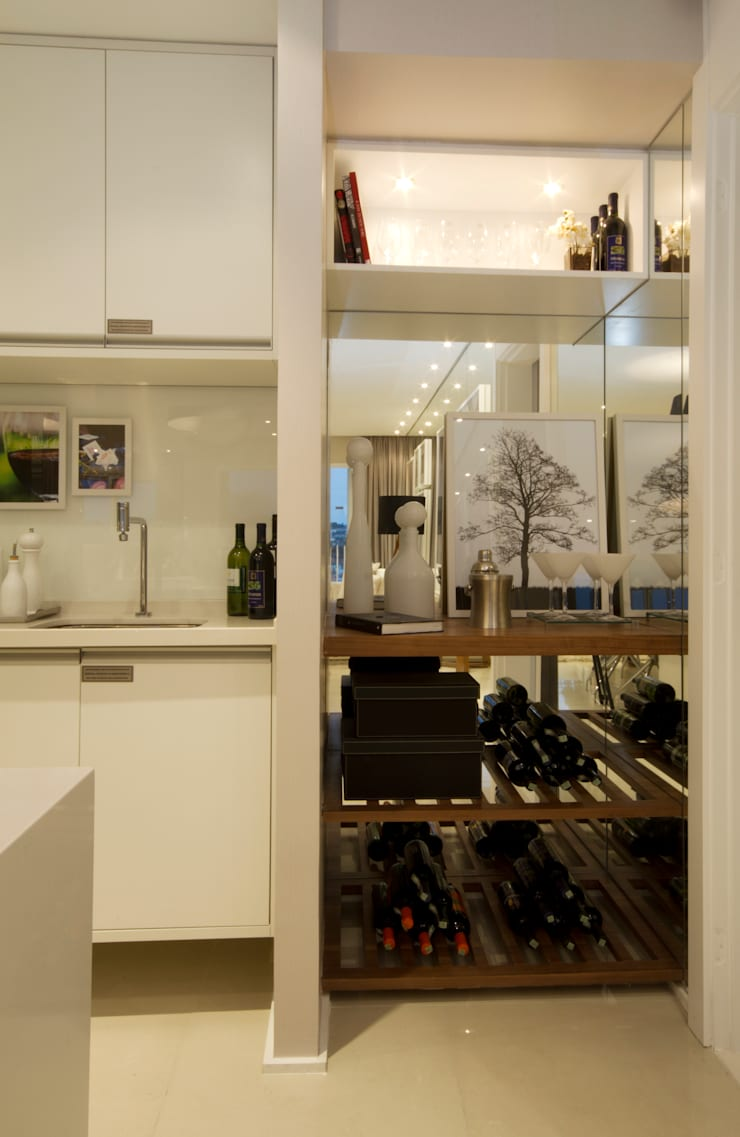 MAC_Otacílio: Cozinhas  por Chris Silveira & Arquitetos Associados