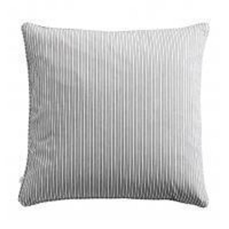Grey Stripe Cushion:  Bedroom by Andrassy Living
