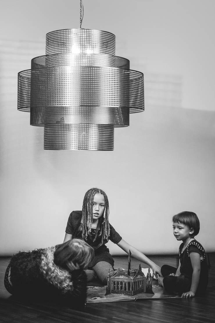 New York: styl , w kategorii Jadalnia zaprojektowany przez Archerlamps - Lighting & Furniture