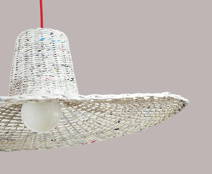 Lampa Misia: styl , w kategorii Sypialnia zaprojektowany przez Barbórka Design