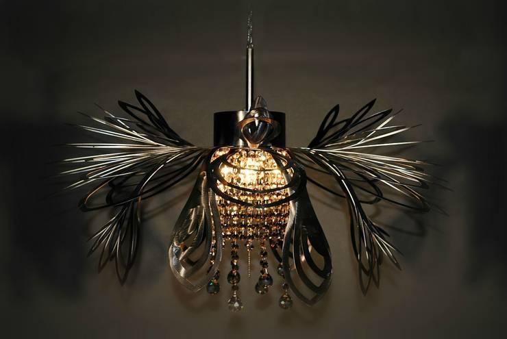 Christina: styl , w kategorii Hotele zaprojektowany przez Archerlamps - Lighting & Furniture