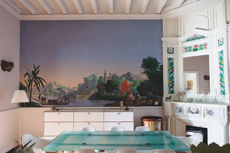 Maguelone Vidal Architectures:  tarz Duvarlar