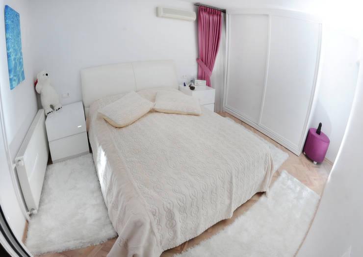 غرفة نوم تنفيذ As Tasarım - Mimarlık