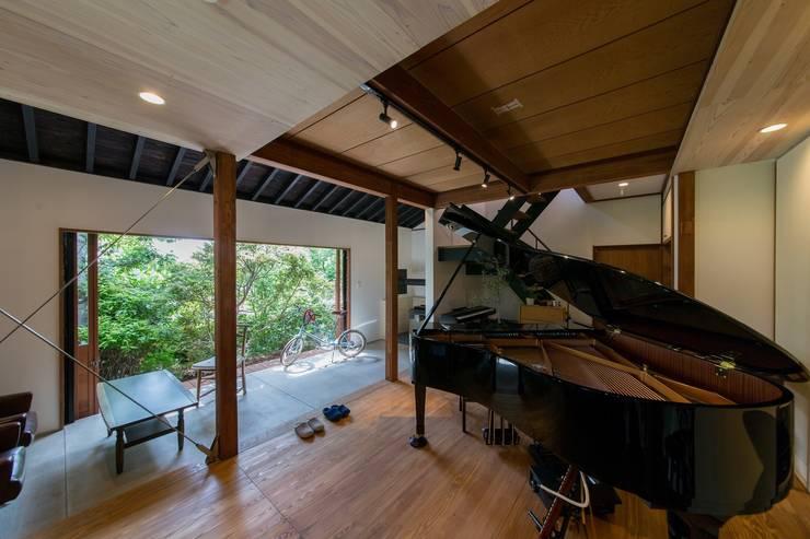 House Ookimati: エコリコデザイン一級建築士事務所が手掛けた和室です。