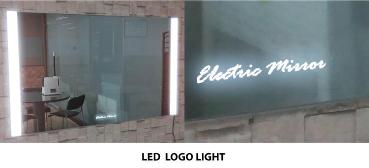 로고 LED  라이팅 기능: 주식회사 에이티옵트로닉스 (AT Optronics Corporation)의  벽 & 바닥