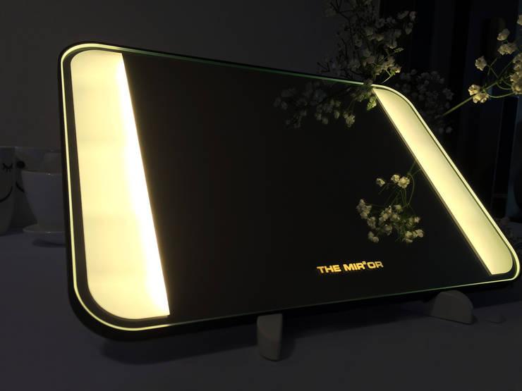 탁상형 2면 LED - 전구색: 주식회사 에이티옵트로닉스 (AT Optronics Corporation)의  침실