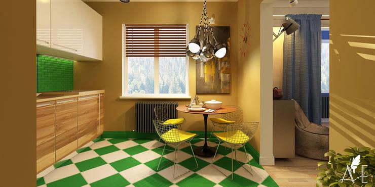 Дизайн проект квартиры г. Нижний Новгород: Кухни в . Автор – Apolonov Interiors