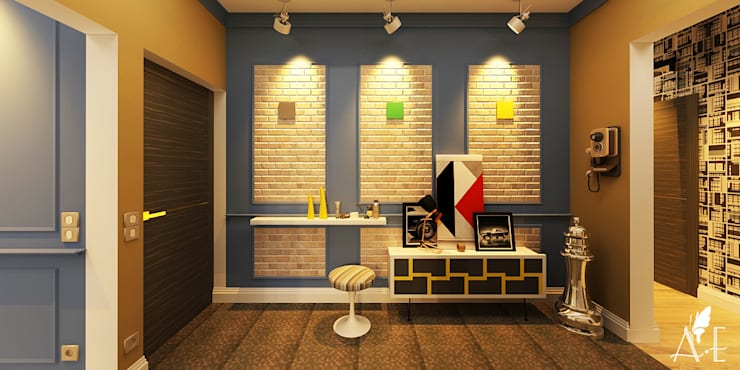 Дизайн проект квартиры г. Нижний Новгород: Коридор и прихожая в . Автор – Apolonov Interiors