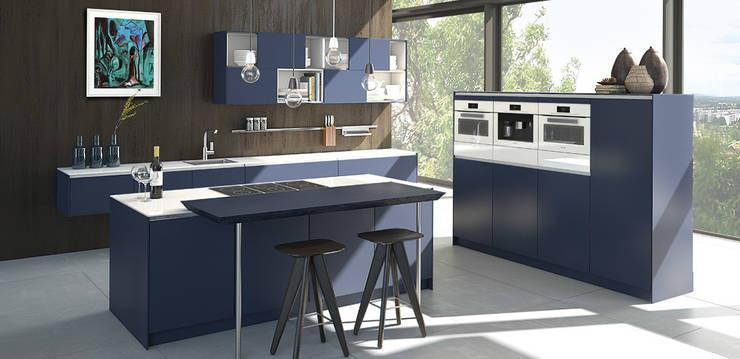 Projekty,  Kuchnia zaprojektowane przez pronorm Einbauküchen GmbH