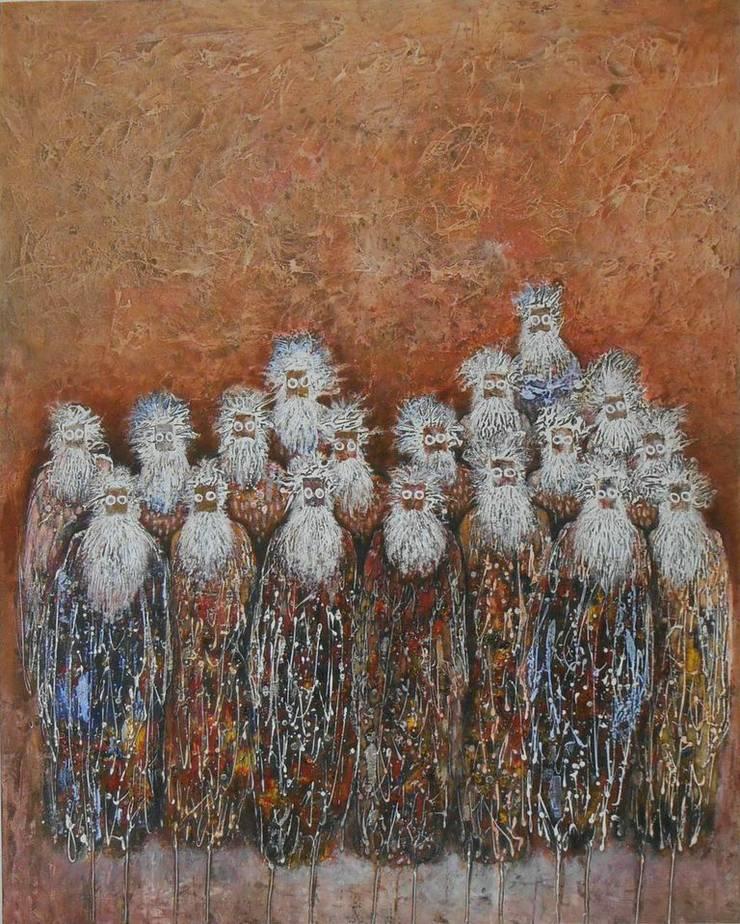 Conseil Des Sages :  Artwork by Mille Arts