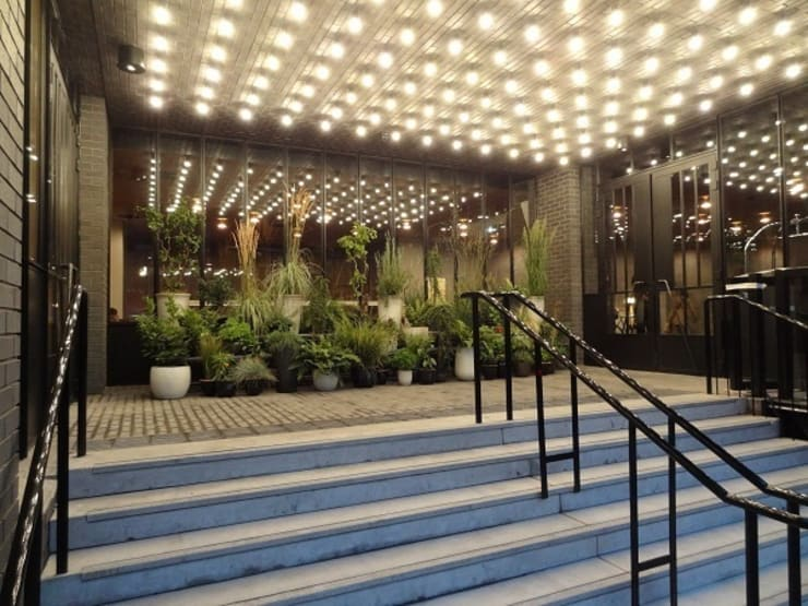 Entrance:  Hotels by Elektra Lighting Design