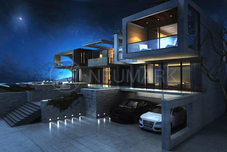 House in Malibu. Дом в Малибу.: Дома в . Автор – NEUMARK
