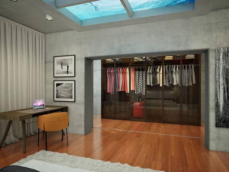 EVGENY BELYAEV DESIGN:  tarz Giyinme Odası