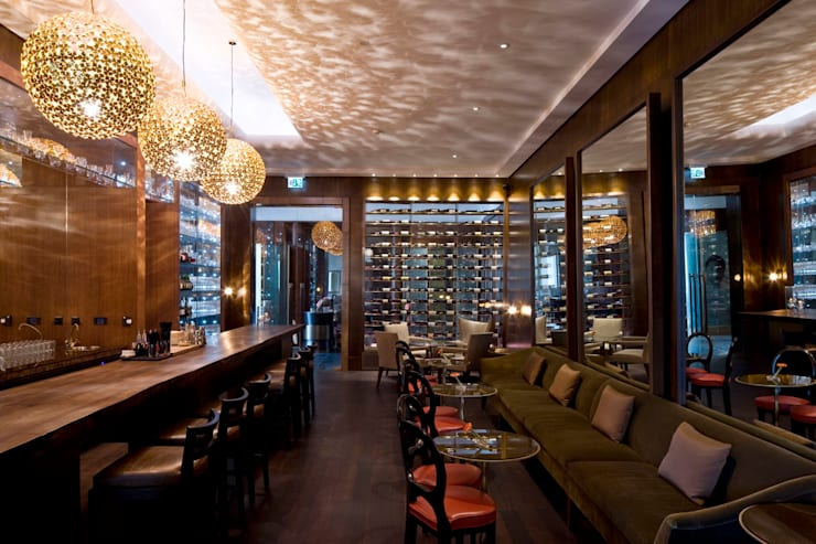 Wine bar:  Gastronomy by Elektra Lighting Design