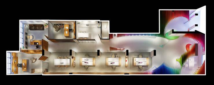 Yegena Mimari Tasarım ve Danışmanlık – Halimoğlu Fasarit Merkez Ofis:  tarz Ofisler ve Mağazalar