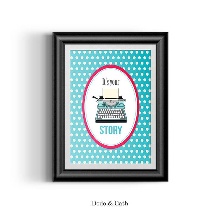 Affiche Story: Bureau de style  par Dodo & Cath