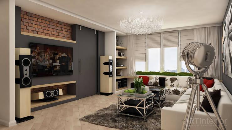 Гостиная в . Автор – «Artinterior» – Студия дизайна интерьера