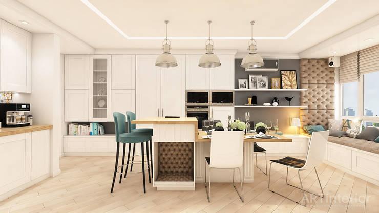 Кухни в . Автор – «Artinterior» – Студия дизайна интерьера