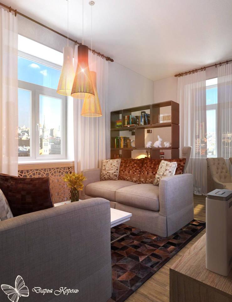 Loft style living room in an old house: Гостиная в . Автор – Your royal design