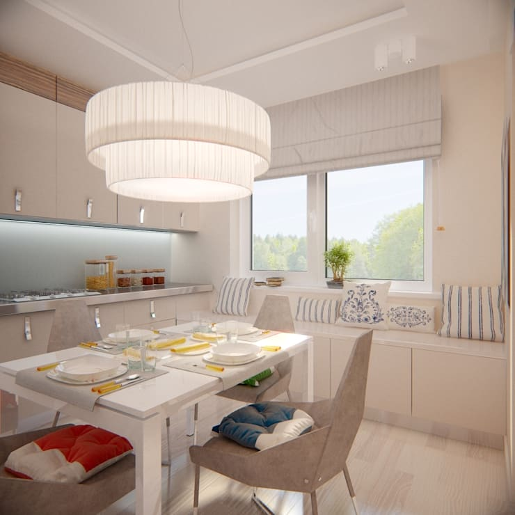 Minimalist kitchen by Artbaza Minimalist