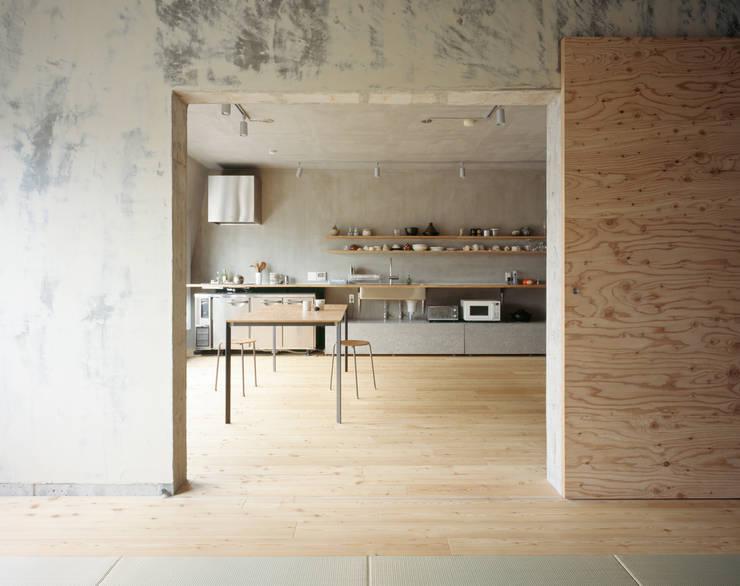 苅部 寛子建築設計事務所 /OFFICE OF KARIBE HIROKO의  다이닝 룸
