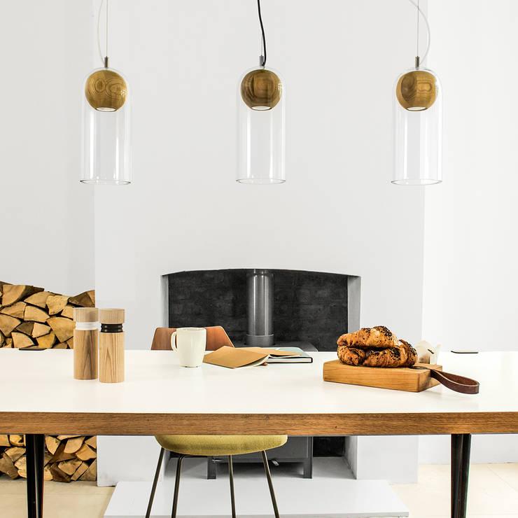Vitamin Cloak Lamp:  Dining room by Vitamin