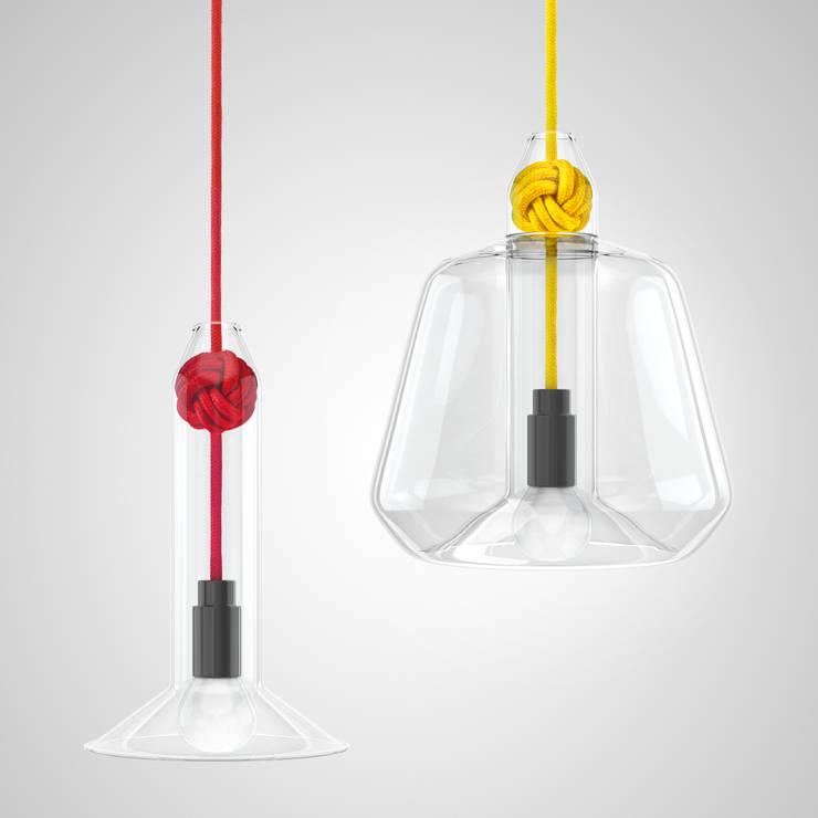 Vitamin Knot Lamp:  Dining room by Vitamin