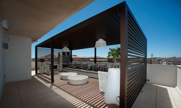 Balconies, verandas & terraces  تنفيذ Artemark Global