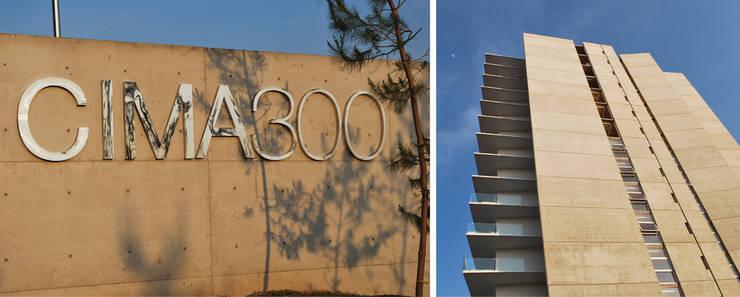 Residencial vertical CIMA 300, Zapopan: Casas de estilo  por LEAP Laboratorio en Arquitectura Progresiva