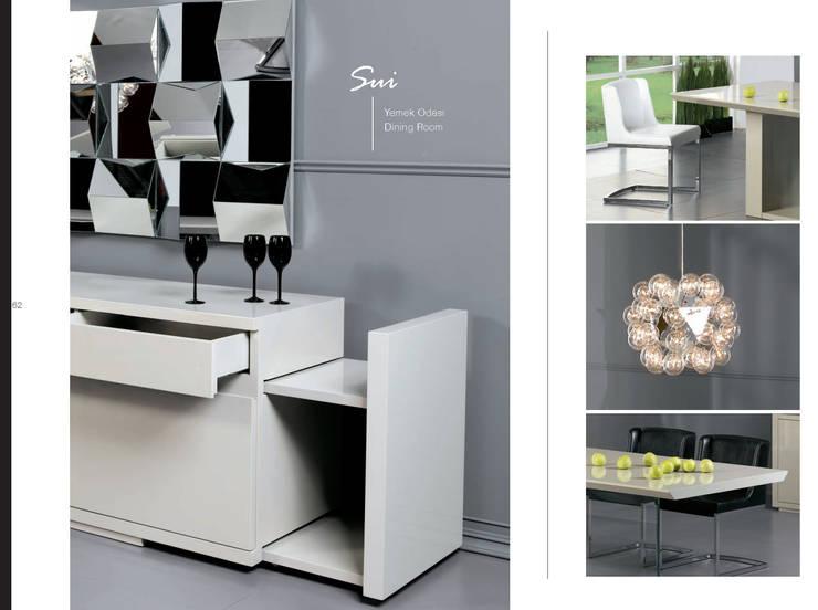 Gulsah Soyluer Designer/Sculptor – Sui :  tarz Yemek Odası