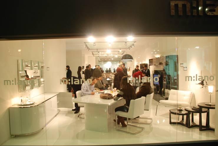 Gulsah Soyluer Designer/Sculptor – Suada for Milano Furniture & Interior Design Company:  tarz Yemek Odası