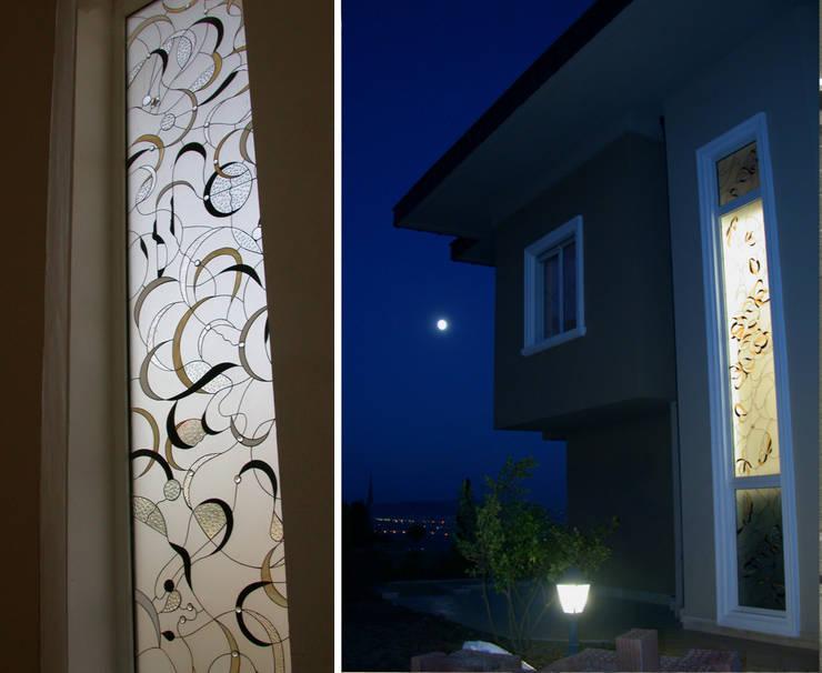 Ural Mimarlık ve Özel Sağlık Hizmetleri Ltd. Şti. – Modern 3:  tarz Pencere & Kapılar