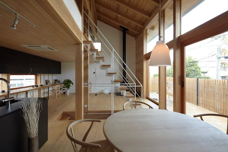 でんホーム鳥飼ゲストハウス: でんホーム株式会社が手掛けた窓です。