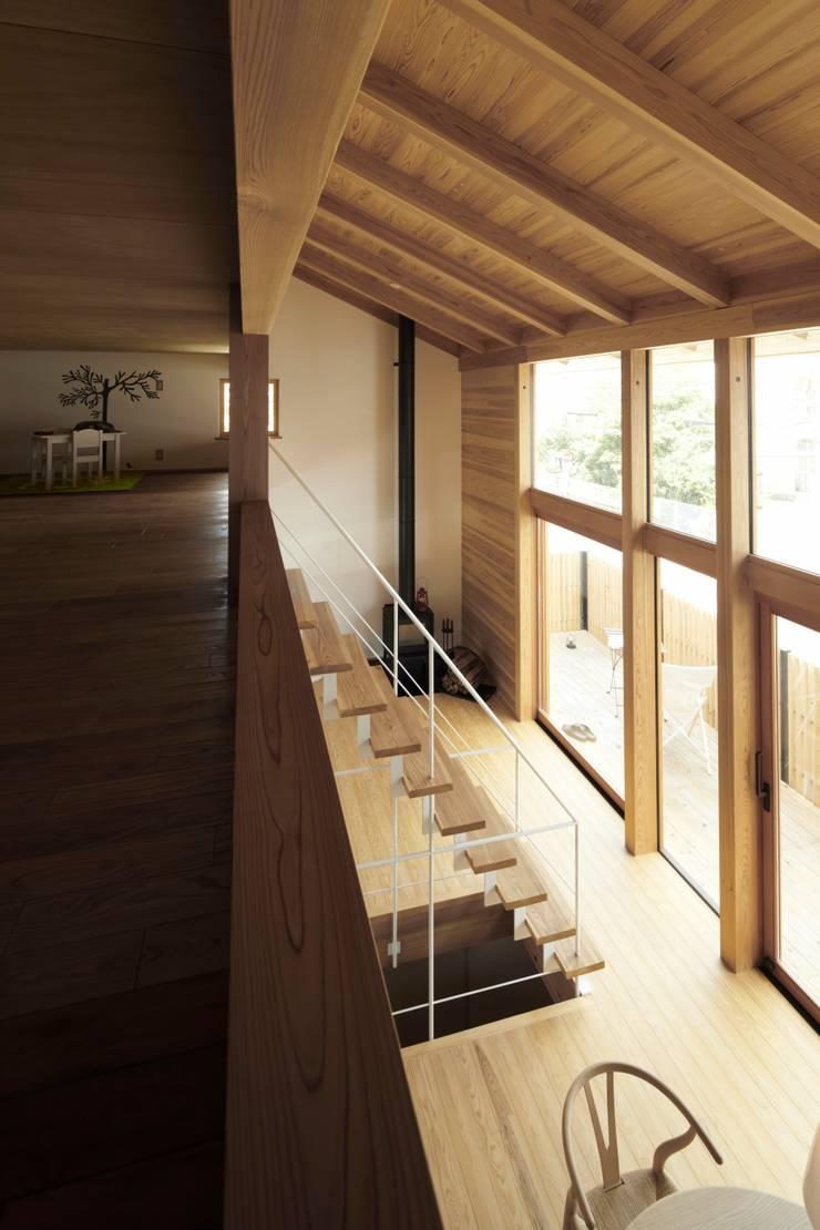 でんホーム鳥飼ゲストハウス: でんホーム株式会社が手掛けた壁です。