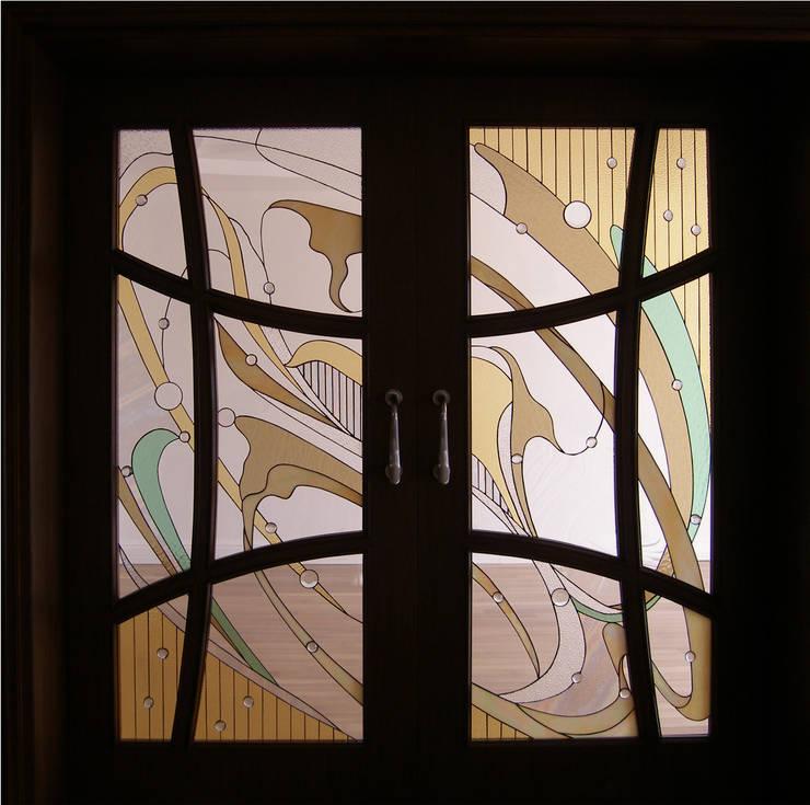 Ural Mimarlık ve Özel Sağlık Hizmetleri Ltd. Şti. – Modern 8:  tarz Pencere & Kapılar