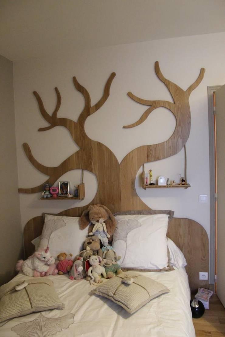 Lit: Chambre d'enfants de style  par Noémie Vernet