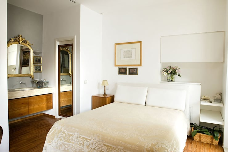 Bedroom by Giandomenico Florio Architetto